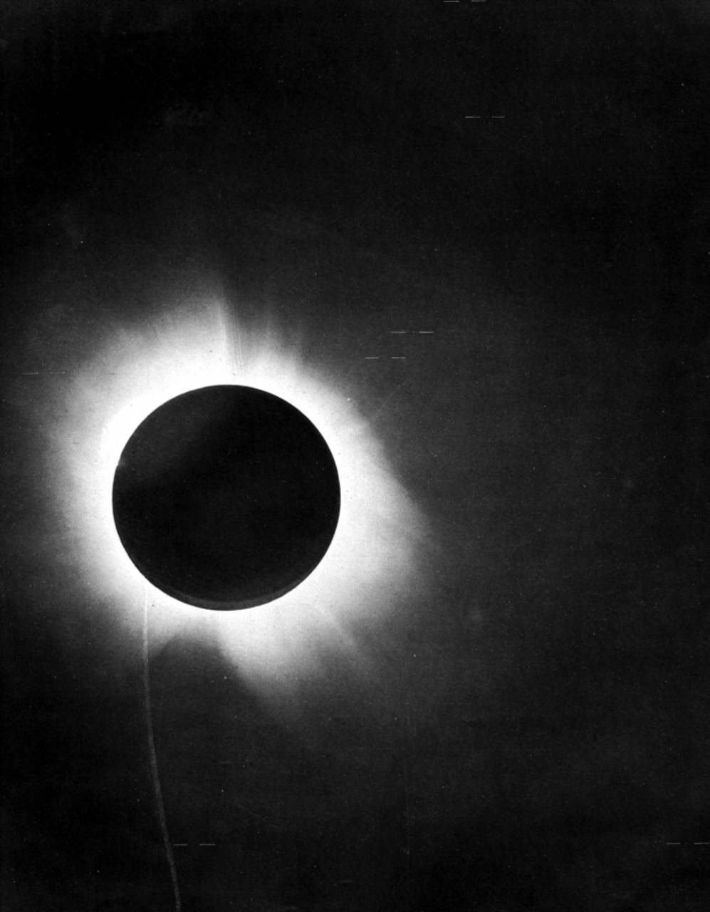 Eddington Plate of 1919 Eclipse
